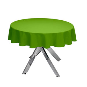 Apple Green round Tablecloth