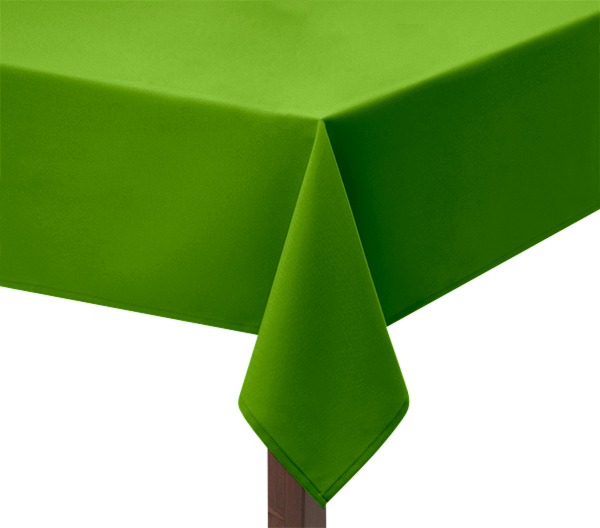 Green Square Tablecloth
