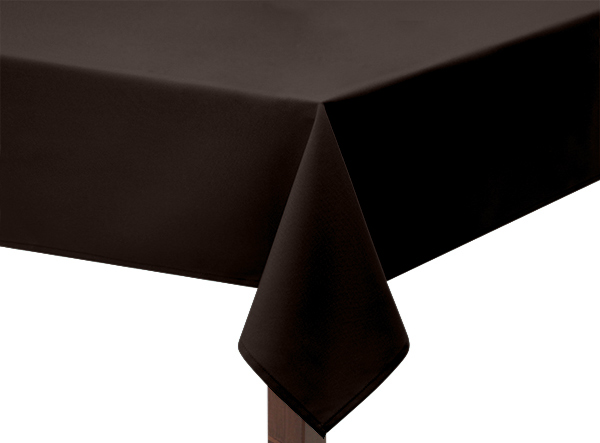 Brown Tablecloth