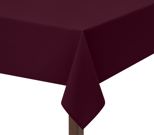 Burgundy Square tablecloth