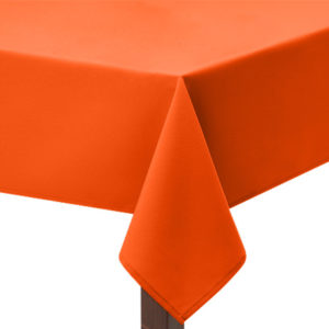 Flo Orange Tablecloth