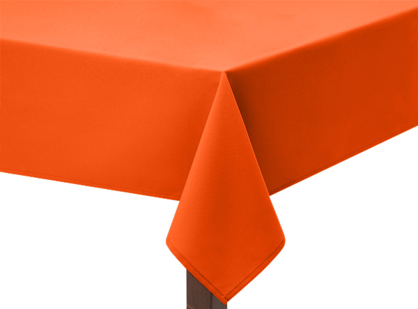 Flo Orange Tablecloth