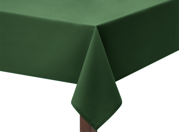 Forest Green Square Tablecloth