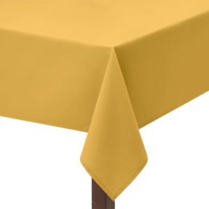 Gold Square Tablecloth