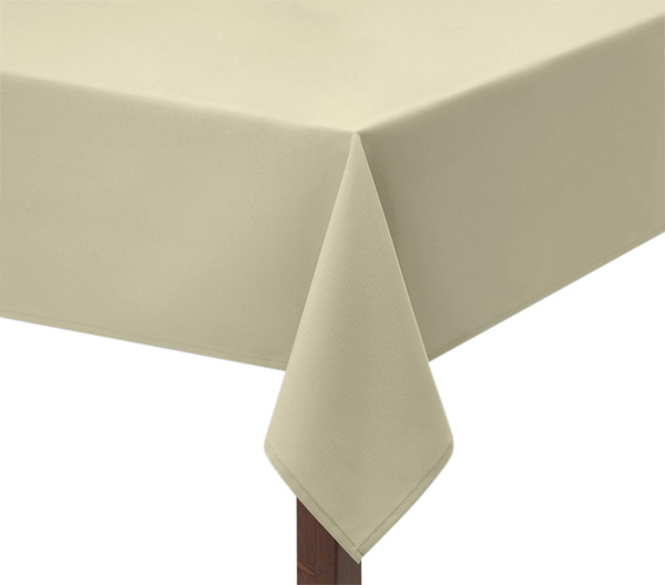 Ivory Square Tablecloth