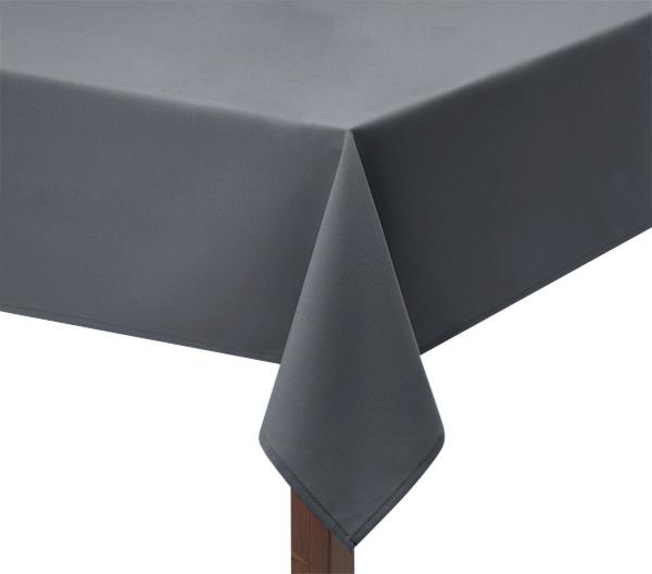 Light Grey Square Tablecloth