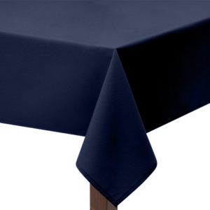 Navy square Tablecloth