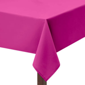 Raspberry Square Tablecloth