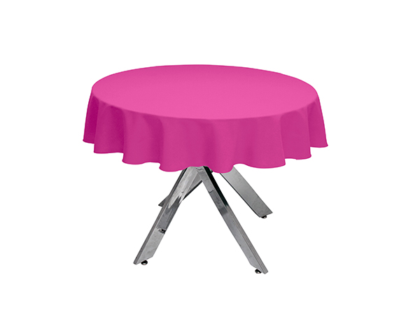 Raspberry Round Tablecloth