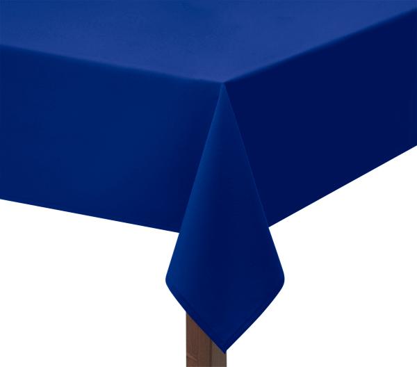 Royal Blue Square Tablecloth