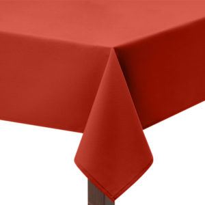 Rust square Tablecloth