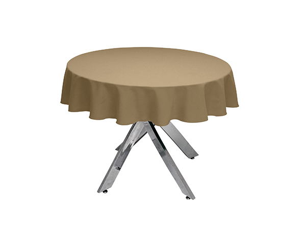 Sandalwood Round Tablecloth