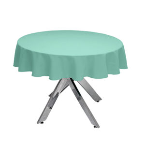 Seafoam Round Tablecloth