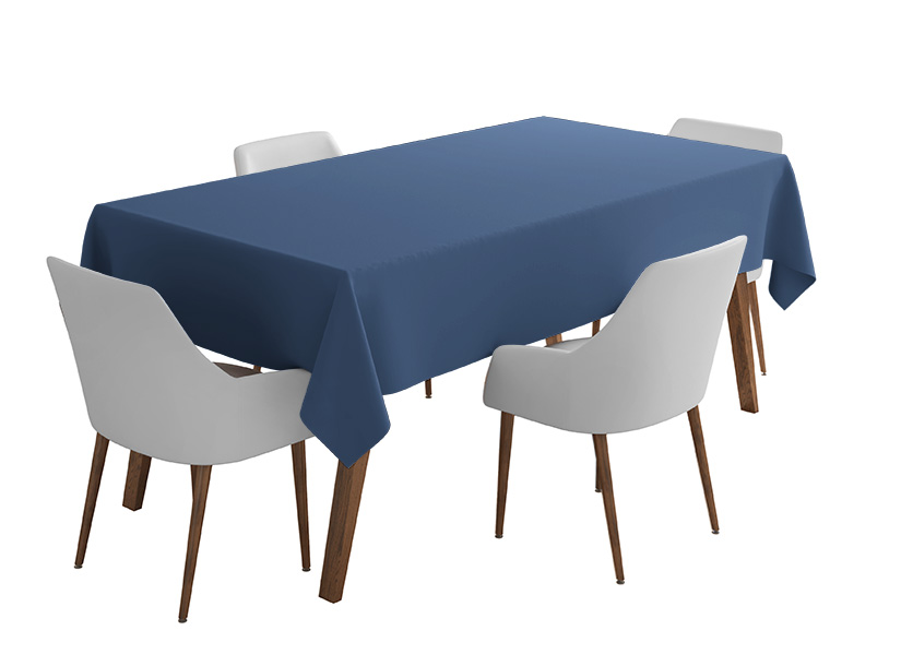 Airforce Bi-Stretch Tablecloth Square/Rectangle Standard Sizes