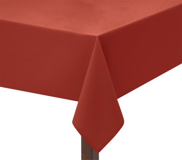 Terracotta Square Tablecloth