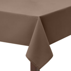 Taupe square Tablecloth