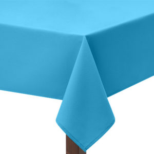 Turquoise square Tablecloth