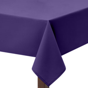 Violet Square Tablecloth
