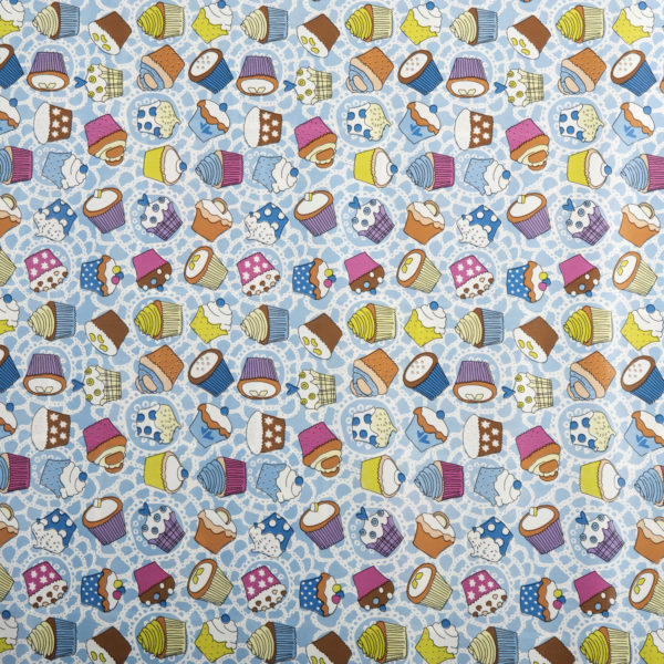 PVC Cupcakes Tablecloth