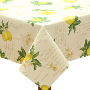 PVC Lemon Tablecloth