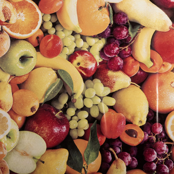 PVC Mixed Fruit Tablecloth