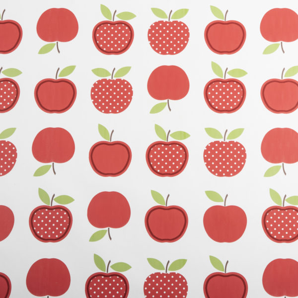 PVC Red Apples Tablecloth