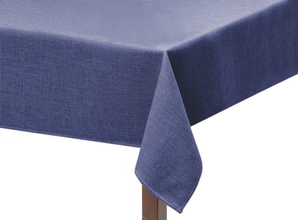 Light Blue Basket Weave Square Tablecloth