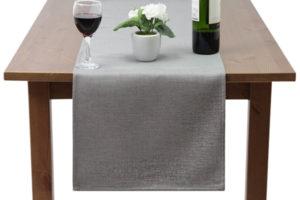 Grey Basket Weave Linen