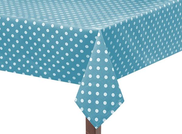 Blue Capri Square Tablecloth