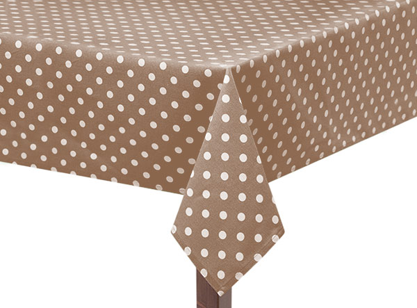 Capri Spots on Square Tablecloth