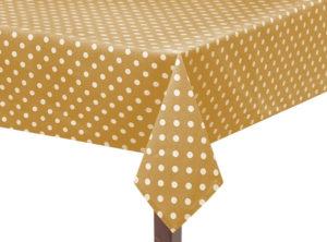 Gold Capri Square Tablecloth