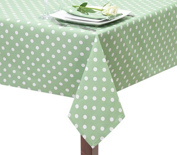Lime Green Capri Square Tablecloth