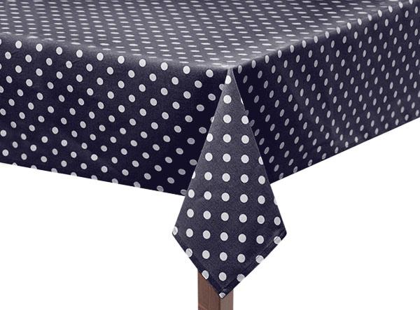 Navy Blue Capri Square Tablecloth