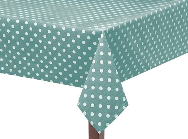 Turquoise Capri Square Tablecloth
