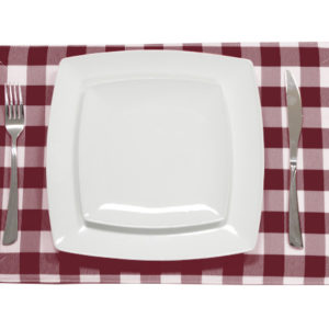 Burgundy Placemat