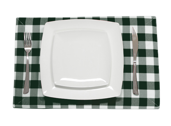 Forest Green Placemat