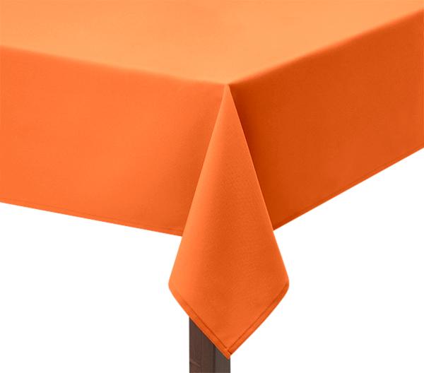 100% Heavy cotton Orange tablecloth