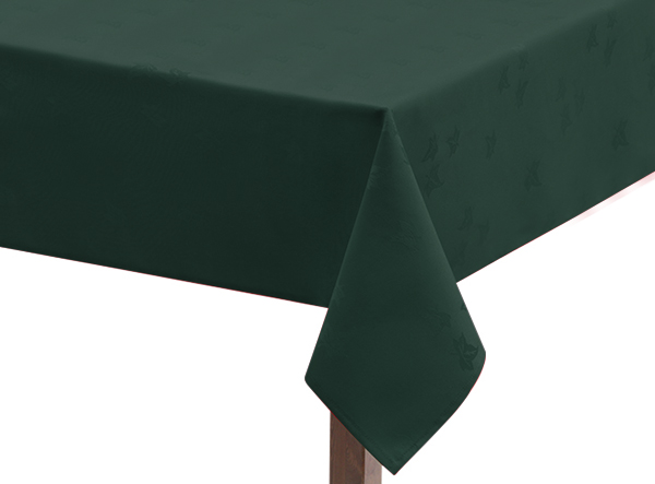 Forest Green Ivy Leaf Square Tablecloth