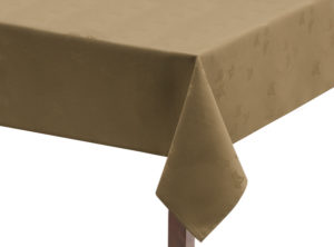 Sandalwood Ivy Leaf Square Tablecloth