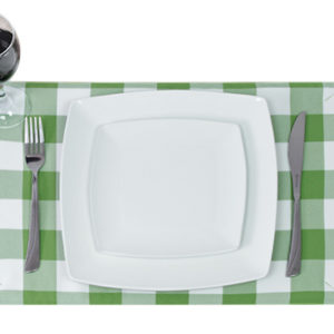 Lime Green Placemat