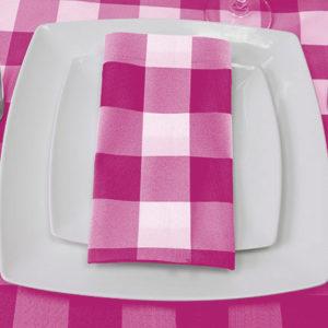 Pink Napkin