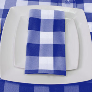 Royal blue Napkin