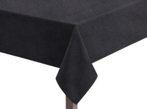 Linen Union Black tablecloth