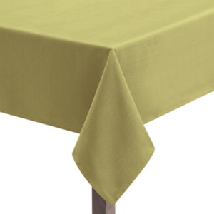 Olive Linen Union Tablecloth