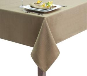 Sandalwood Linen Union Tablecloth