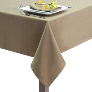 Sandalwood Linen Union Tablecloth