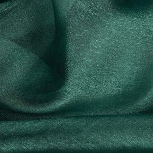 Crystal Organza Square Green Tablecloth