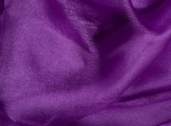 Crystal Organza Square Purple Tablecloth