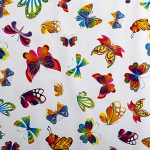 PVC Butterfly Tablecloth