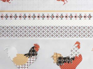 PVC Chicken Tablecloth